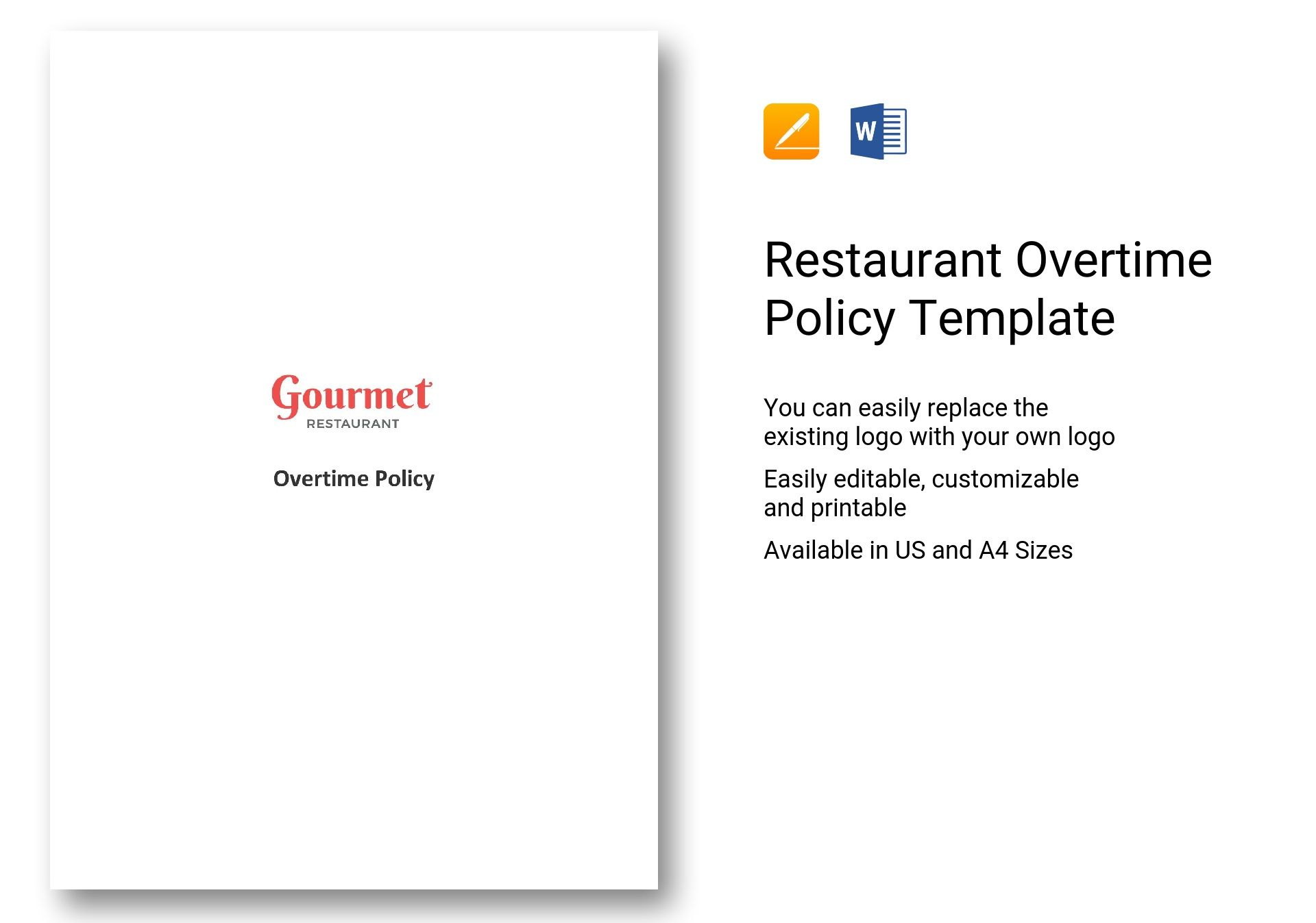 Restaurant Overtime Policy