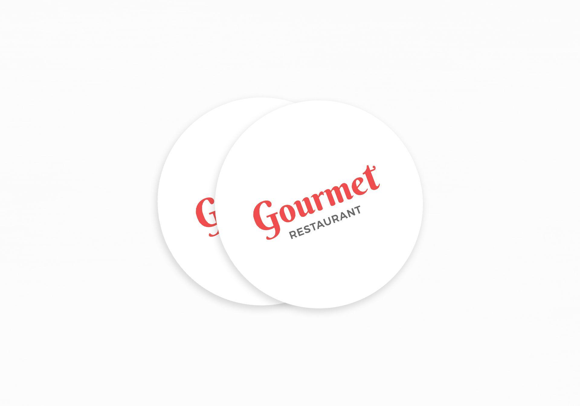 Restaurant Round Coaster