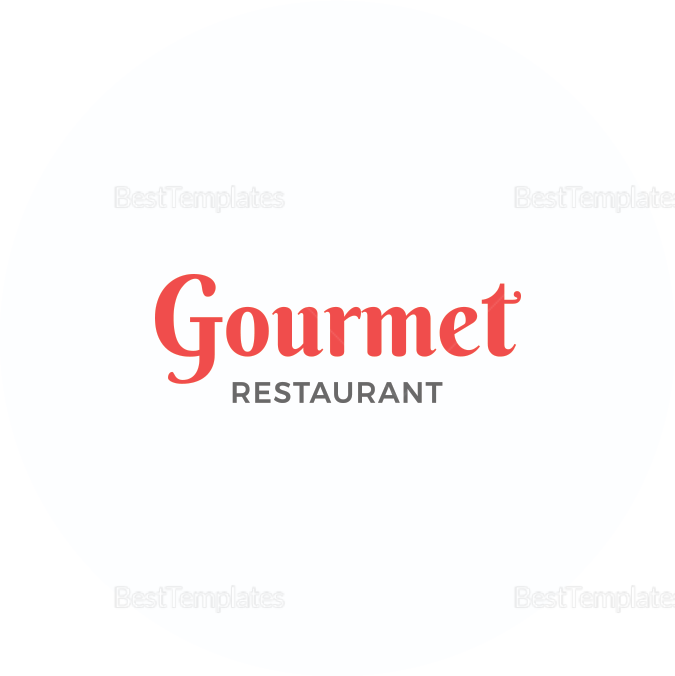 Simple Restaurant Round Coaster