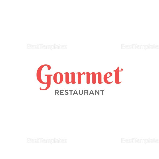 Simple Restaurant Square Coaster Template