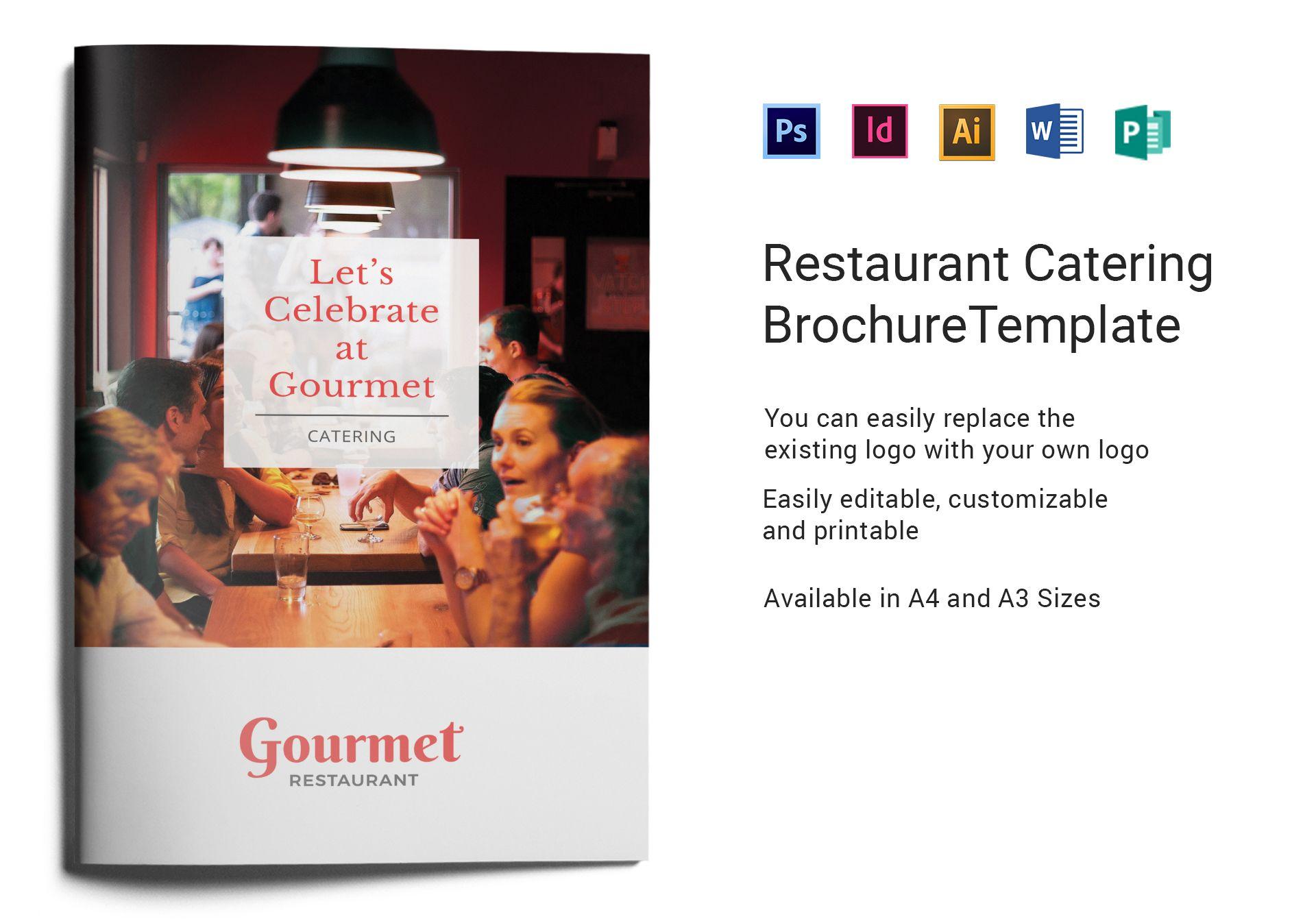 Restaurant Catering Brochure
