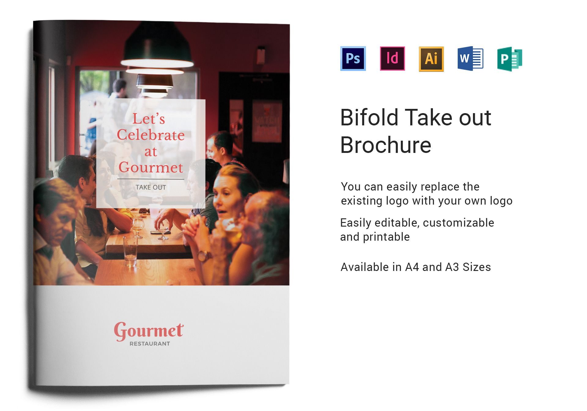 Restaurant Take Out Brochure
