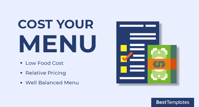 Cost your Menu