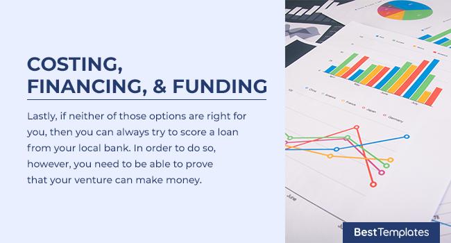 Costing, Financing, & Funding