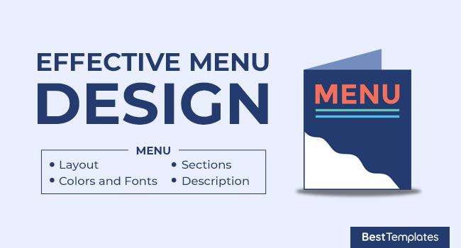 Effective Menu Design