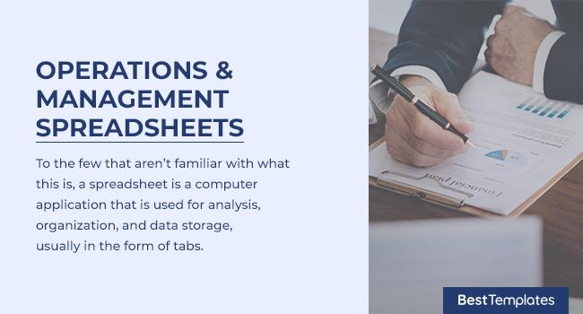 Restaurant Operations & Management Spreadsheets ... |Operations Spreadsheet