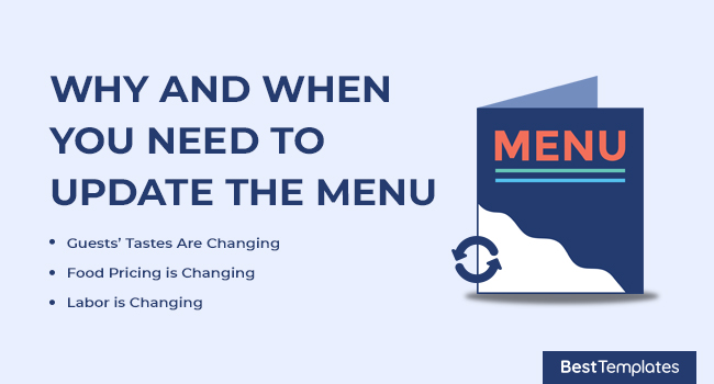 Why and When you Need to Update the Menu