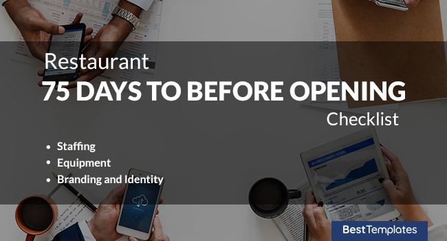 Restaurant Business Checklist [ Before Opening, Post Opening