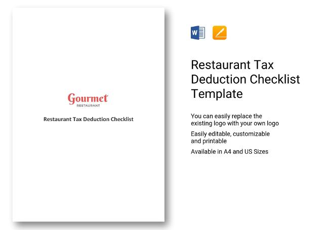 Business Deductions Checklist