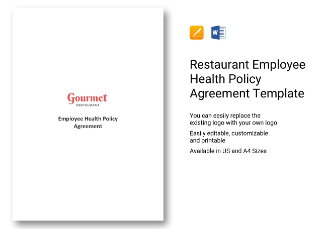65 Restaurant Hr Templates Hiring Payroll Policies