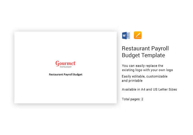 Restaurant Hr Templates  Hiring Payroll Policies