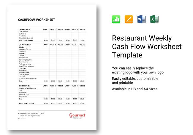 Weekly Cash Flow