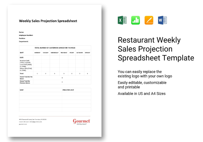 22+ Restaurant Spreadsheets [ Budgeting, Sales, Inventory