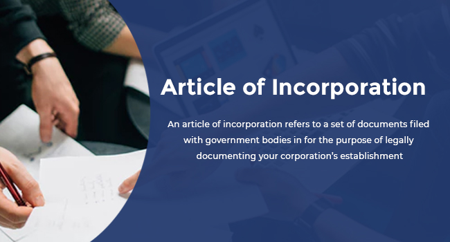 Article of Incorporation