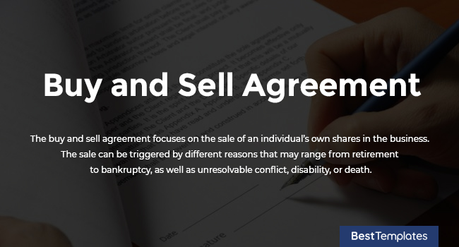 Buy and Sell Agreement