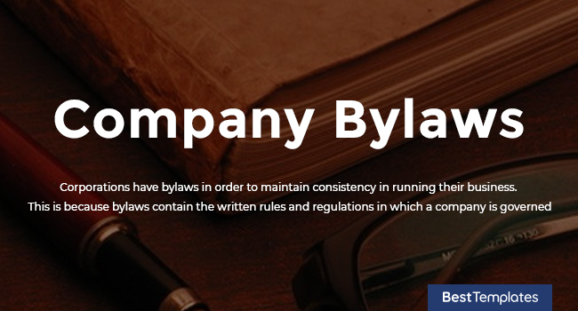 Company Bylaws