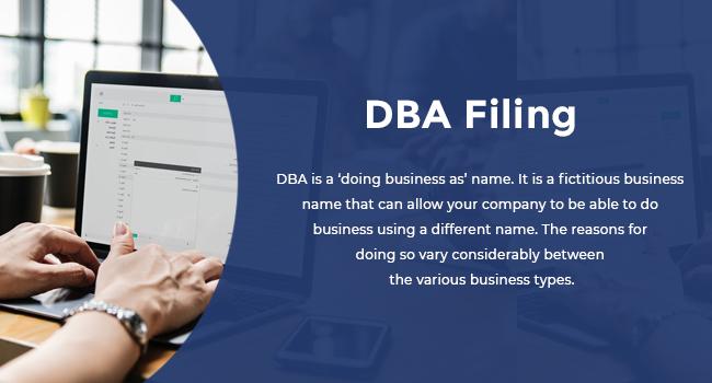 DBA Filing