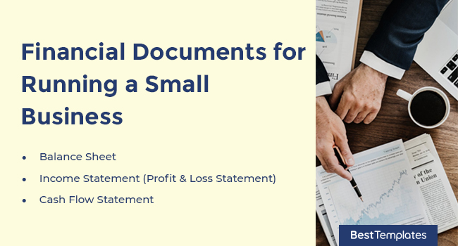 Financial Documents for Running a Small Business