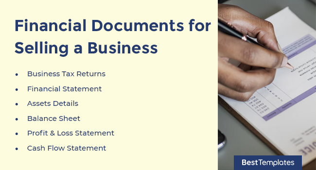 Financial Documents for Selling a Business