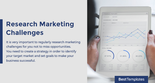 Research Marketing Challenges