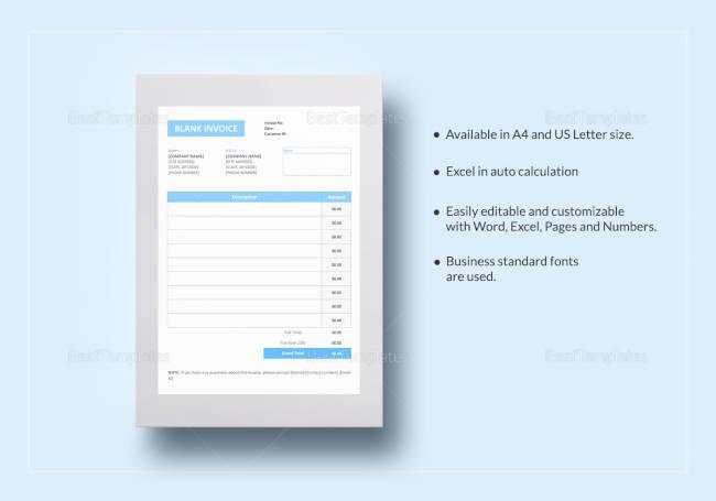 Basic Invoice Template