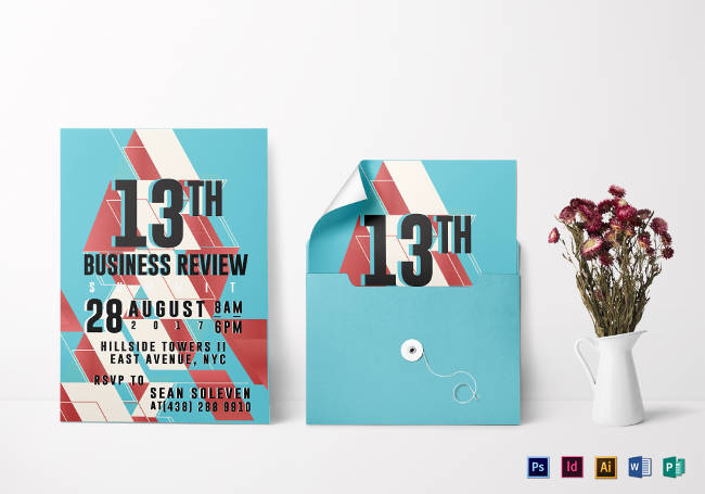 Business Review Invitation