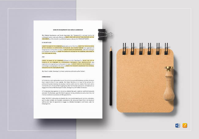 Website Development and Service Agreement