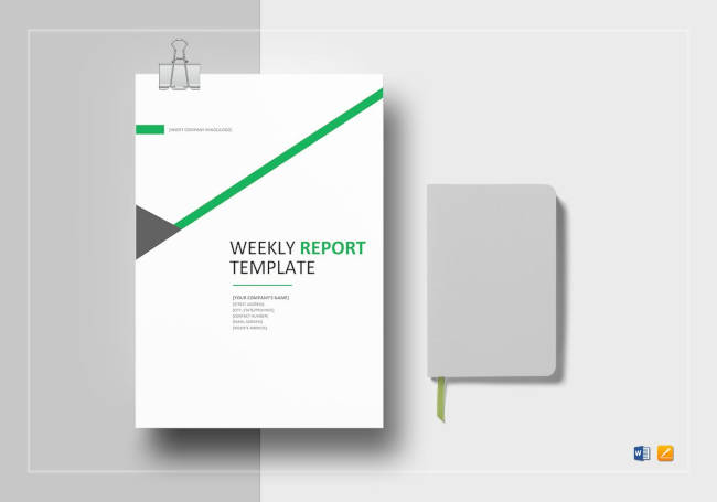 Weekly Status Report Template